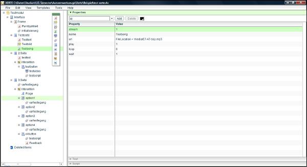 Xerte Screenshot